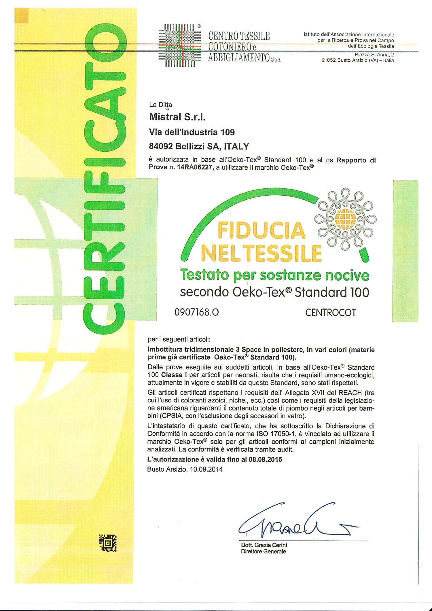 Certyfikat BM