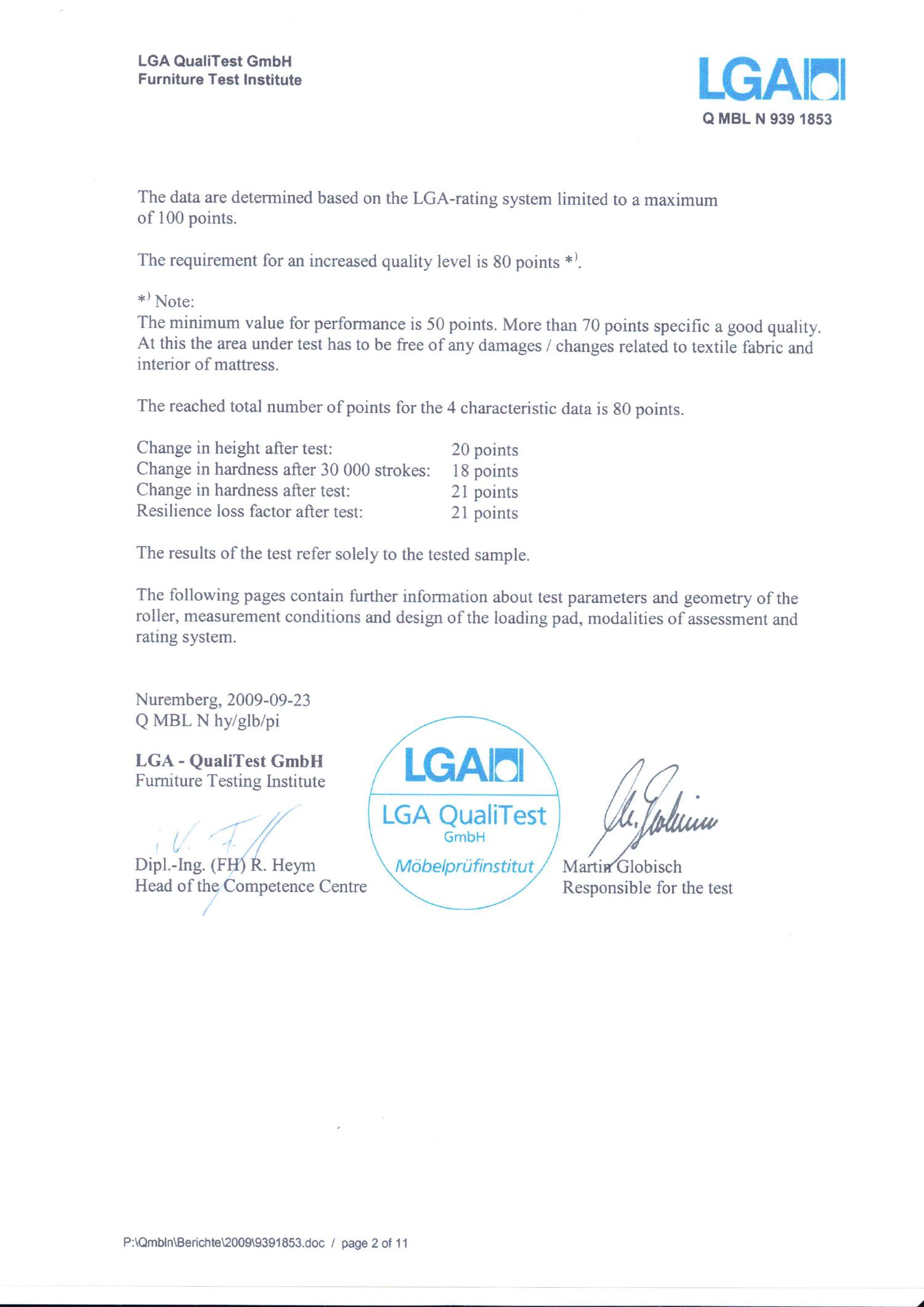 Certyfikat LGA 2